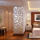 12pcs 3D Mirror Wall Stickers Acrylic Mural Sticker Home Ellipse Decor Removable