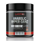 MATRIX ANABOLIC HYPER GAINZ POWDER - SIZE & STRENGTH - ALL FLAVOURS - 250G