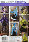 SIMPLICITY PATTERN FANTASY JACKET HAT WINGS FAIRY ELF ANIME ZELDA SZ 6-12 # 1293