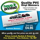 Quality Vinyl PVC Banners Signs Business Advertising Car Sales Scaffolders Shops
