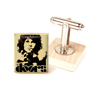 Jim Morrison Cufflinks The Doors Handmade Cufflinks Unique Handmade in the UK