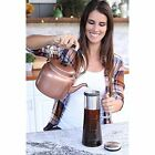 Airtight Cold Brew Coffee Maker - 1 Quart Sealing Iced Coffee Maker - Glass with
