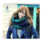 Winter Scarf women Mixed Colors Pullover Knitted Scarf Winter Collars TXSU