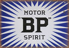 BP MOTOR SPIRIT Blechschild Wanddeko Metallschild Garage