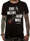 The Walking Dead Eeny Meeny Unisex Official Licensed Black T-Shirt Negan Lucille