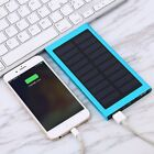 Waterproof 300000mAh Portable Solar Panel Charger Dual USB Battery Power Bank BB