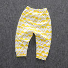 Kids Baby Boys Girls Harem Pants Cotton Trousers Toddler PP Legging Sweatpants