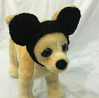Pet Clothes Apparel Hand-Made Knit Mickey Mouse Costume Headband  Small Dog