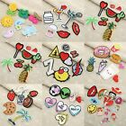 Sewing Ironing On Bags Hat DIY Craft Badge Cloth Fabric Pattern Cloth Patches