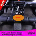 Yes Waterproof Car Mats Leather 7 Colors Y2R3 For Land Rover Range Evoque 2 Door