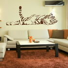 CAT large tiger wall art stickers decals graphic bengal tiger transfer art mural