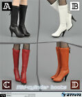 NEW ZY16-27 1/6 action figure toys The cartridge zipper female boots
