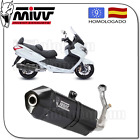 MIVV TUBO ESCAPE COMPLETO SPEED EDGE ACERO C-CUP BLACK SYM MAXSYM 400 2012 12