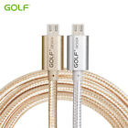Original Golf Aluminum Metal Nylon Andriod Data Transfer Charging USB Cable
