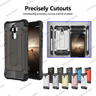 Rugged Armor Shockproof  Heavy Duty Hybrid Case For Huawei Ascend & Honor Phones