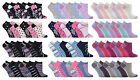 Jennifer Anderton - 6 Pack Ladies Cute Cotton Low Cut Ankle Trainer Liner Socks