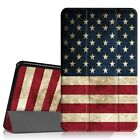 For Samsung Galaxy Tab A 10.1 Stand Folio Case Cover Tablet SM-T580 USA FLAG