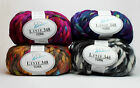 Online 348 YORK 100g Flauschiges Multieffektgarn Coloreffekten Fingerstrickgarn