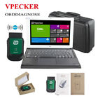 Vpecker Easydiag Wifi Diagnostic Scanner OBD2 + Win10 Tablet Keyboard than X431