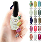 CCO UV LED NAIL GEL TOP BASE COLOUR POLISH - CCO NEW GLITTER RANGE