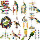 Pet Swing Bird Toy Parrot Rope Harness Cage Hang Toys Parakeet Cockatiel Budgies