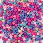 100/500pcs Mixed Colour Round Shape Wooden Beads Eco-friendly 8mm