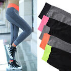 Gym Women Yoga Sports Pants Tights Workout Spandex Fitness Running Quick Dry