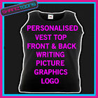 HEN PARTY PERSONALISED DISCOUNT AVAILABLE VEST TOP