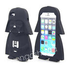 3D Cartoon star wars extraterrestrial alien robot Soft silicone case For Iphone $4.99 AUD