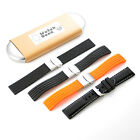 KR-NET Silicone Rubber Classic Watch Band Strap for Moto 360 2nd Gen 2015 Men US