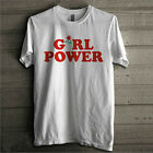 Fashion Women Girl Power T-shirt Letter Print T Shirt Tee Tops Casual Blouse New