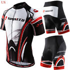 Cycling Clothing Jerseys+Padded Bike Shorts kits Mountain Bike Gear Apparel Sets