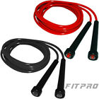 FITPRO Skipping Speed Rope Nylon Jump Gym Fitness Boxing Martial Art Crossfit
