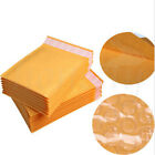 30/50pcs Yellow Kraft Bubble Mailers Padded Envelopes Shipping Bags Self Seal