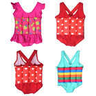One Piece Girl Swimsuit Swimmer Tank Bathing With Removable Floats