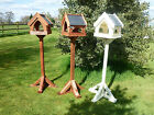 SLATE ROOF Country Cottage Bird Table/ Bird Feeder. Standard Size