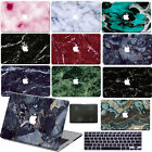 "Hard Rubberized Marble Painting Case For Macbook Pro 13""15""Touch Bar Air 11""13"""