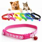 Small Strap Buckle Small Footprint Dog Puppy Pet Collar Nylon Fabric Cat Kitten