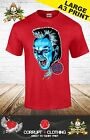 The Lost Boys Santa Carla T-Shirt Inspired Zombies Vampires Movie red  S - 3XL