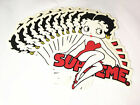 NEW 100% Authentic 16 SS Supreme Betty Boop box logo sticker BUMPER SKATEBOARDA $9.99 USD