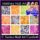 C Series Nail Art Confetti Glitter Sets Decoration Round Dot Shape party Sequins