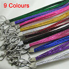 Breakaway Bling Lanyard Rhinestone Diamante Crystal Neck ID Holder Neck Strap