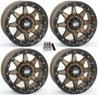 "STI HD5 Beadlock UTV Wheels/Rims Bronze 15"" Polaris Ranger XP 9/1K (4)"