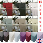 Fitted Sheet Pillow Case Plain Dyed Solid Colors Polycotton Percale Quality