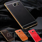 Luxury Ultra-thin Soft TPU Case Leather Back Cover Case Skin For Samsung Galaxy