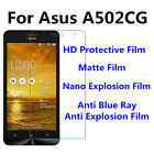 3pcs For Asus A502CG Matte/Nano Explosion/Anti Blue Ray Screen Protector