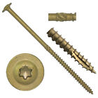 "CTX CONSTRUCTION LAG SCREWS: Star Drive Structural Screws 1""-16""  (1/4"" - 3/8"")"