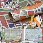 *Frosted Color Glass Film Office Window Privacy Security Sticker Decal 5022