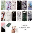 Marble Granite Pattem TPU Soft Case Cover For Samsung Galaxy Grand Prime G530