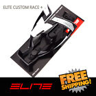 Elite Custom Race Plus Water Bottle Cage Bike - Black White